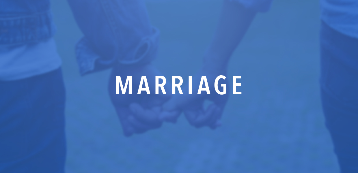 Marriage header graphic
