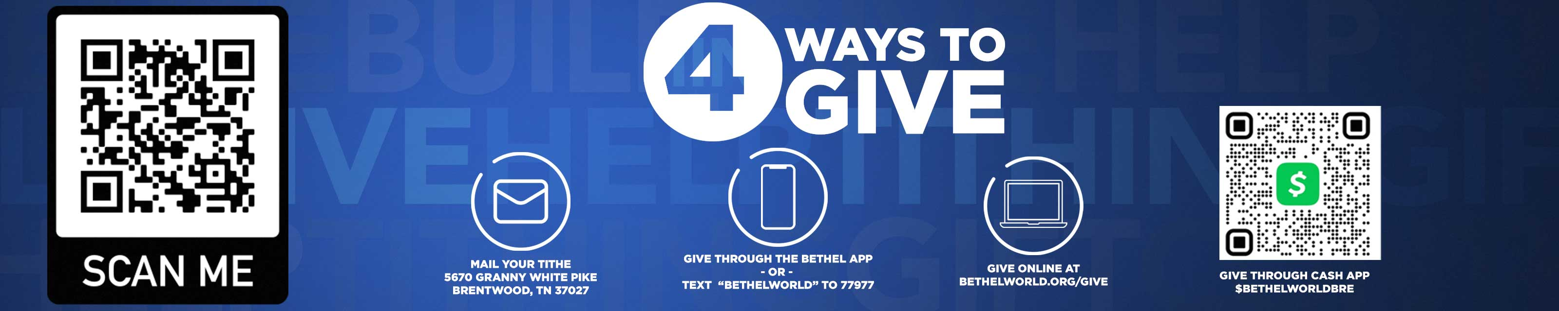 4 ways to give graphic