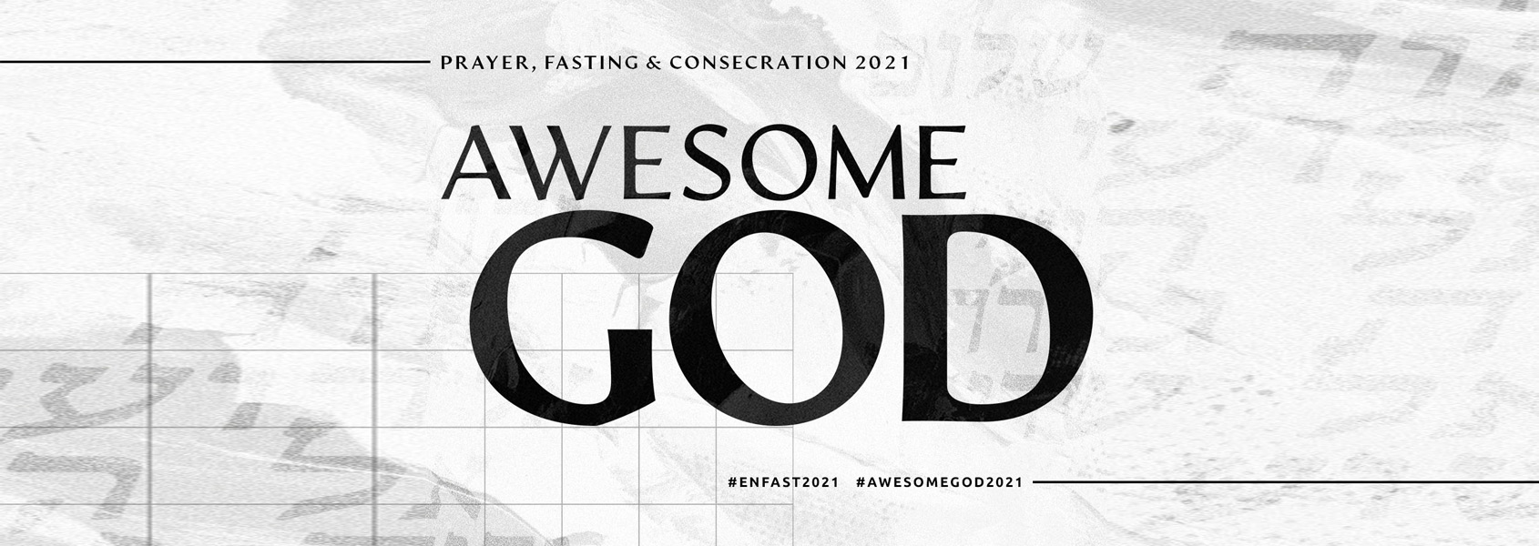 Awesome God header graphic