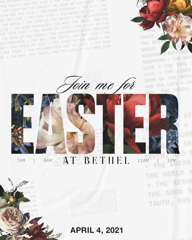 Bethel Easter April 4 2021